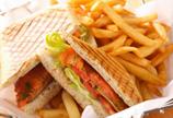 美味可口的三明治